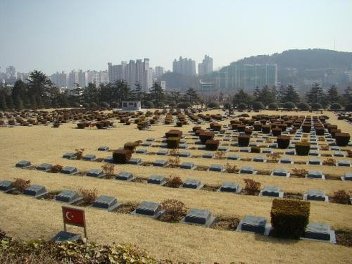 argazkia UN Memorial Cementry of Korea Walkways