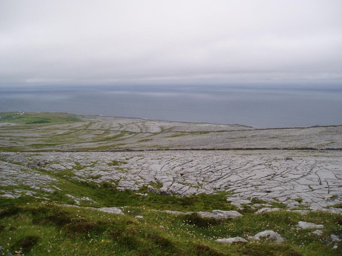 Bild av Black Head and Gleninagh Mountain, The Burren