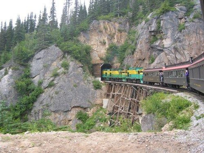 Foto de White Pass train trip