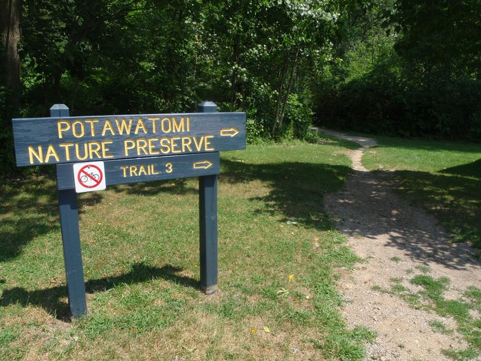 Photo of Pokagon State Park Trail #3 and Lonidaw Lake
