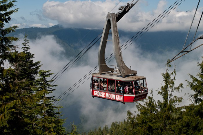 Foto van The Grouse Grind