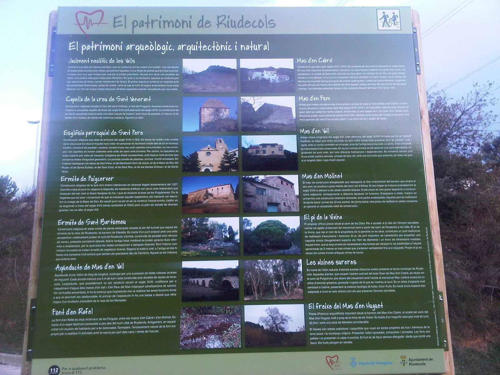 Photo of Itinerari Saludable Riudecols