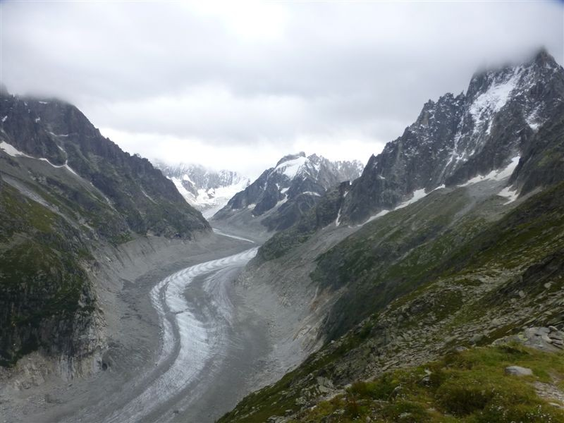 Photo of Chamonix: Pla de l'Aguille - Lac bleu - Mer de glace - Rocher Monttets