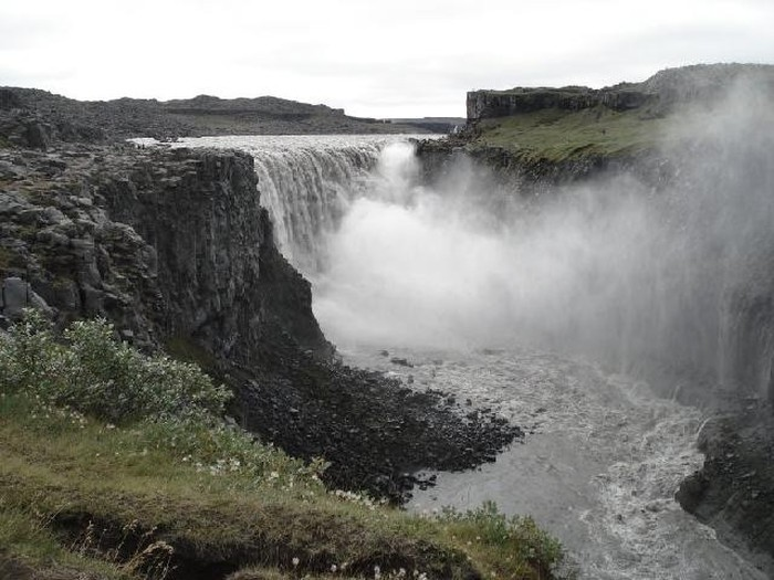 Photo of Dettifoss & Selfoss (waterfall/cascadas)
