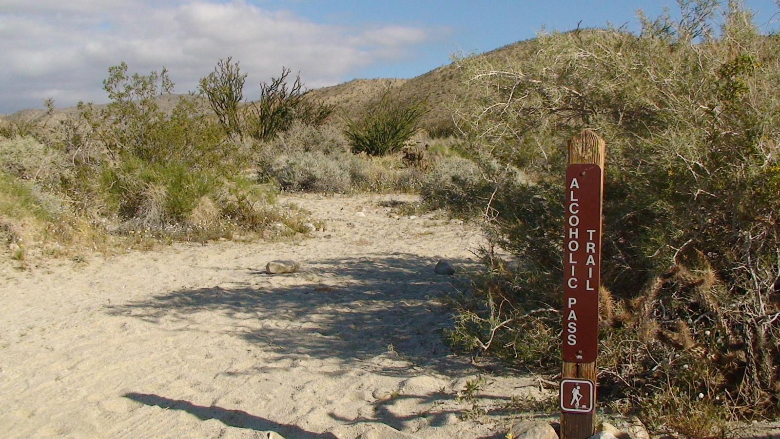 mynd af California Borrego Springs Alcoholic Trail