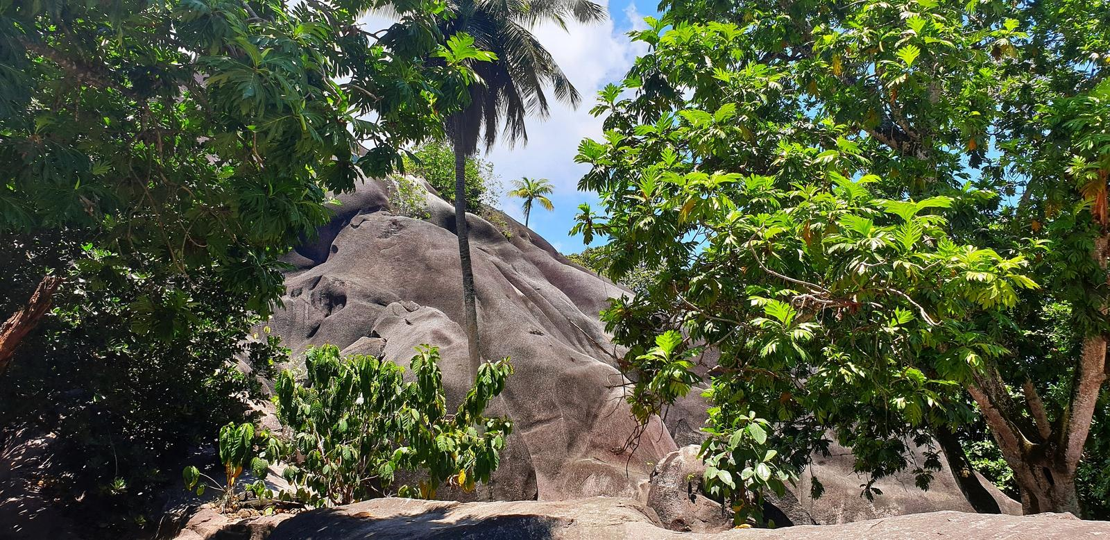 Foto di HRG - Seychellen La Digue Anse Source D Argent - Estate Farm Giant Rock Vanille Plantagen