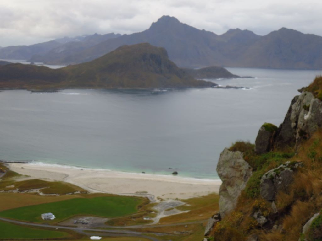 Photo of Haukland beach to Uttakleiv 2015-10-21
