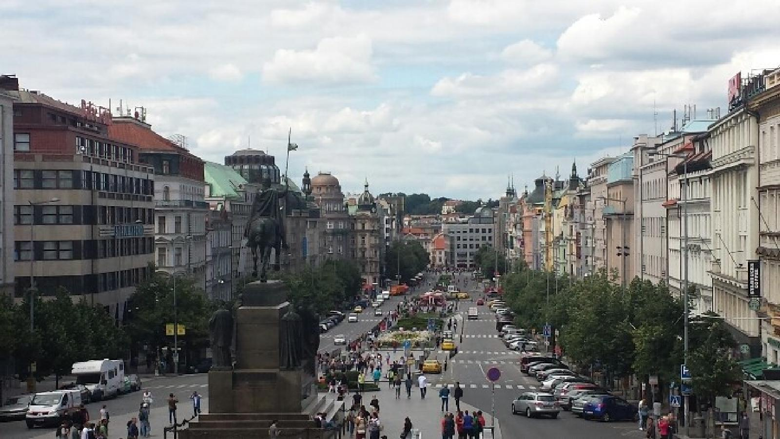 Фото Wenceslas square from National museum