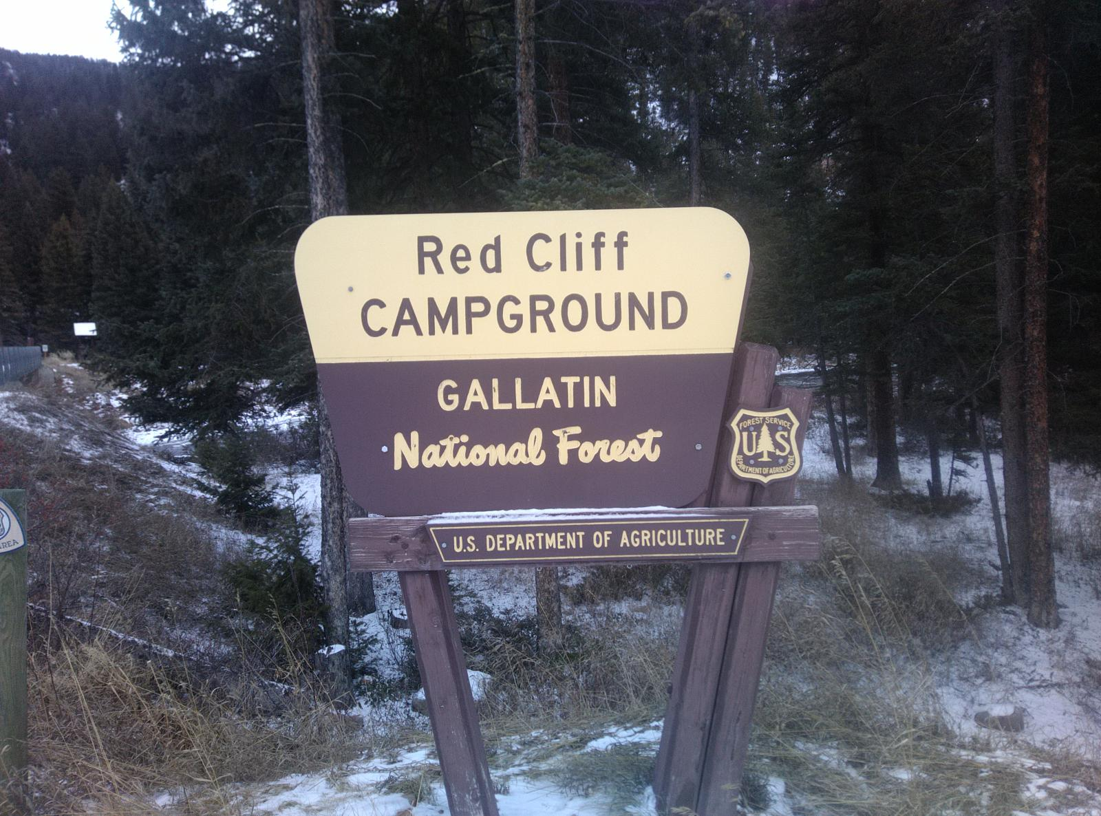 Foto af A walk around Red Cliff Campground