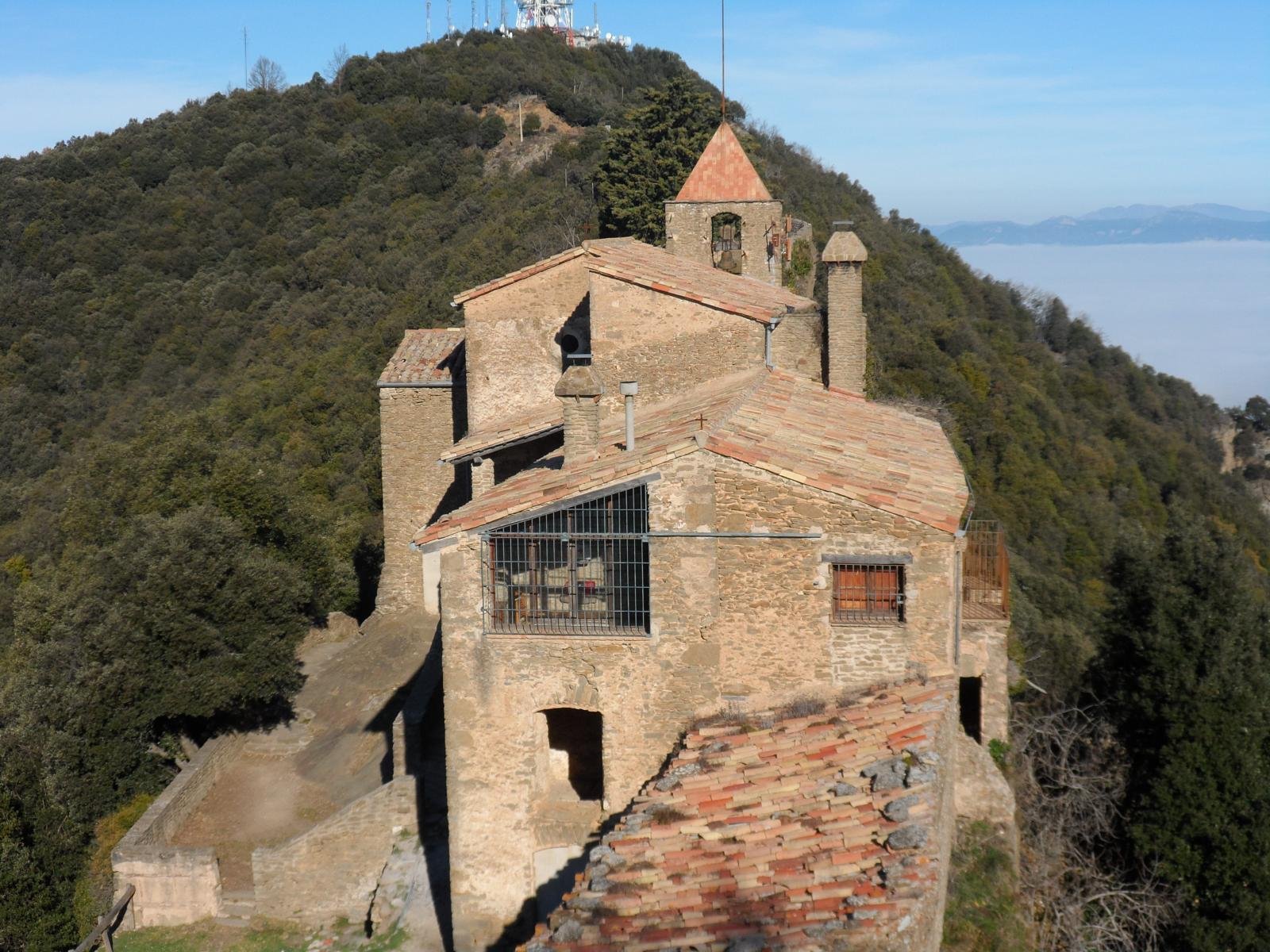 Photo of ermita Santa Maria de Rocacorba