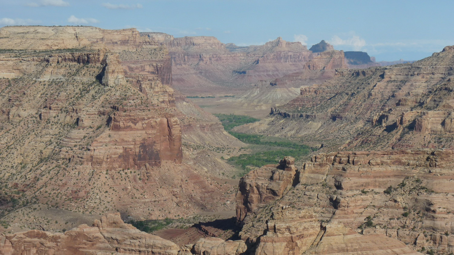 Zdjęcie USA -2- Little Grand Canyon - Moab Arches -Canyonlands-Utah 22 Aout-1 Sept