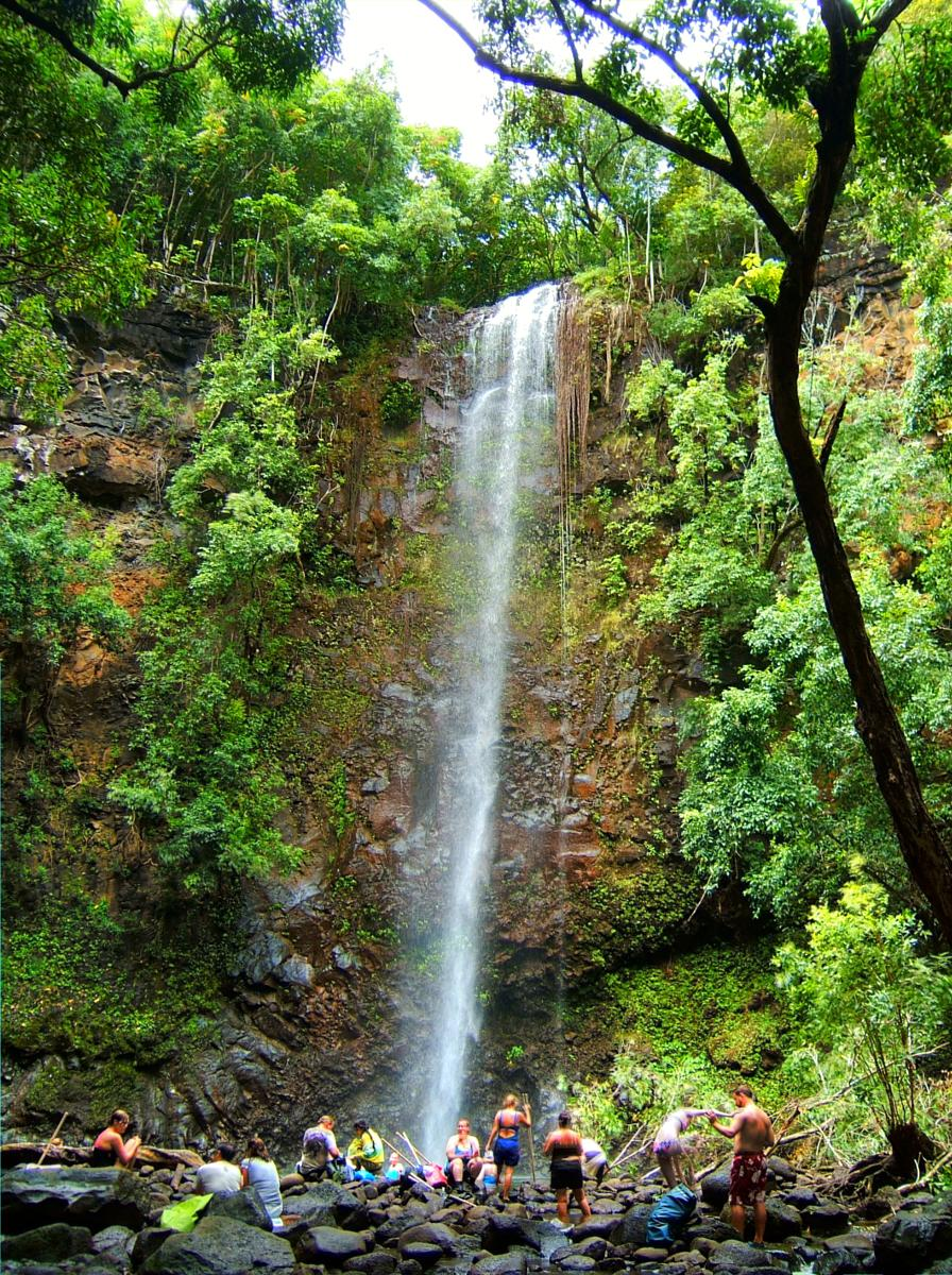 Photo of Kayak Wailua River to Secret Falls Trail, Kauai Hawaii