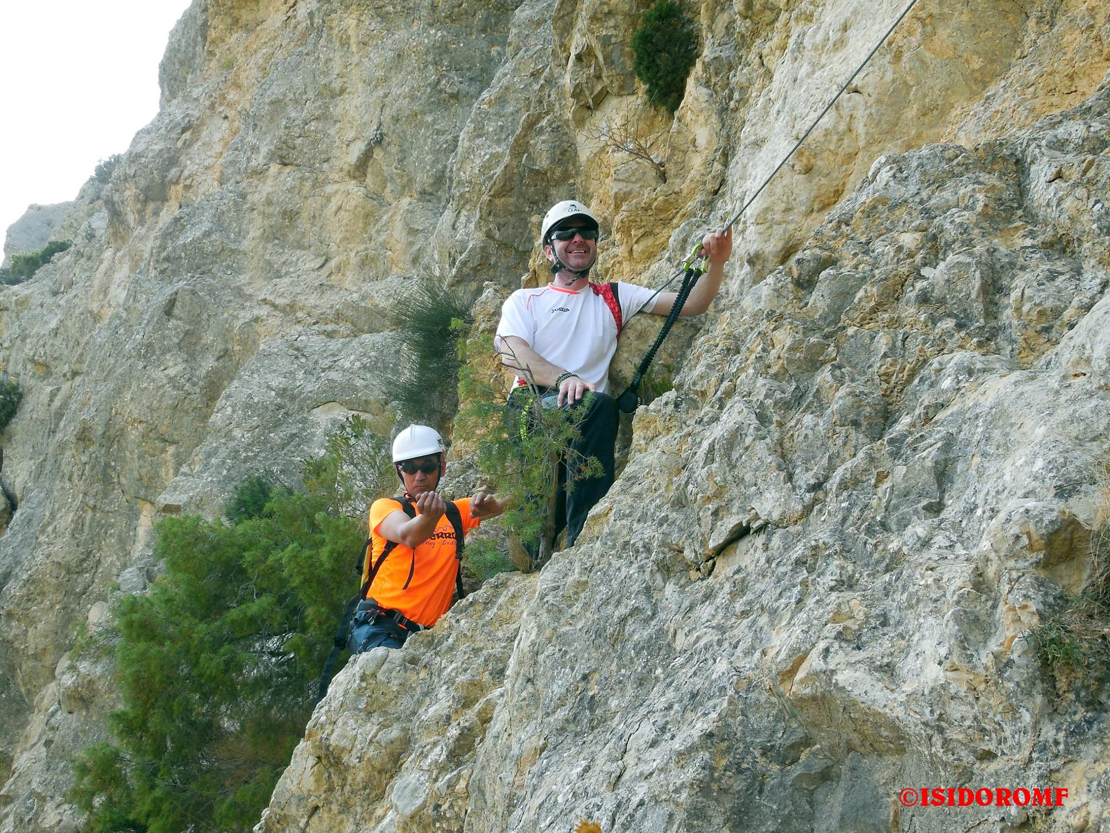 Photo of VIA FERRATA LA NORTE DEL CID Alicante