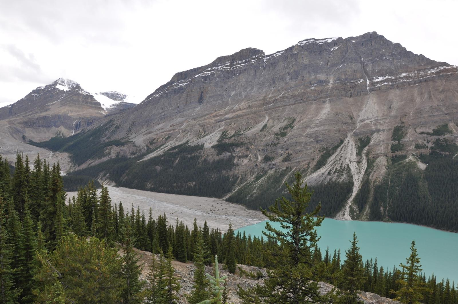 Foto de Peyto lake. Banff National Park.