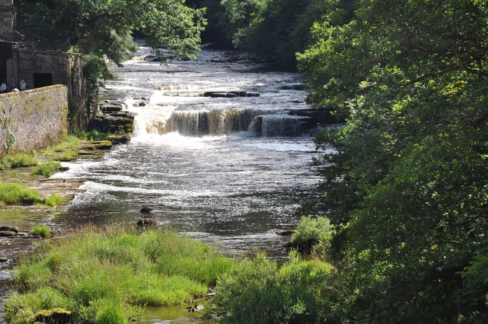Photo of New lanark y clyde falls
