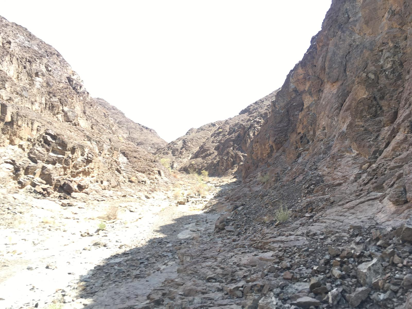 Foto de The two Shawka wadi's loop and jobless valley