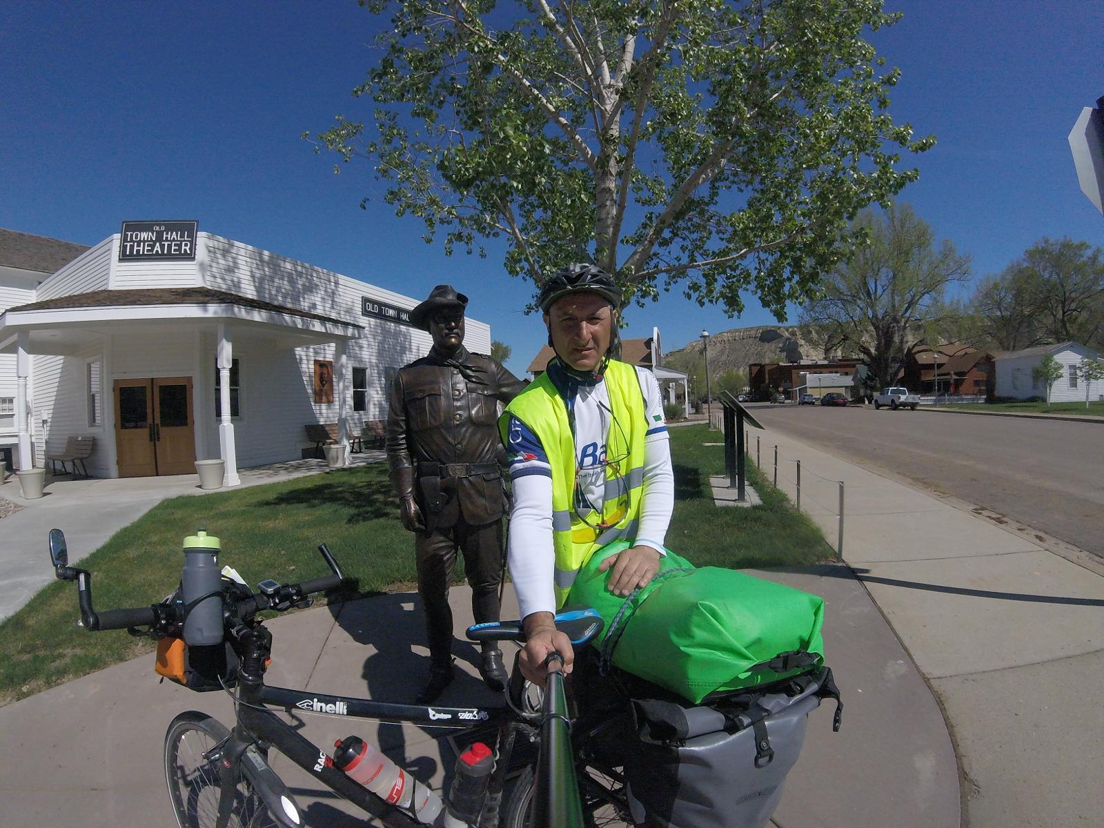 mynd af 15 fifteenth cycling stage SEATTLE TO NEWYORK