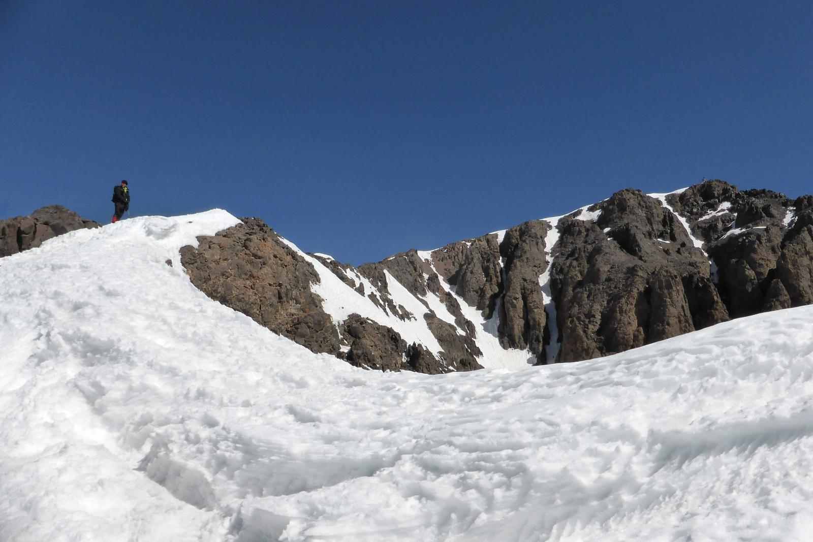 Photo de Atlas invernal (Marruecos): Refugio Les Mouflons - cima Toubkal (4.167m) - Refugio - Imlil