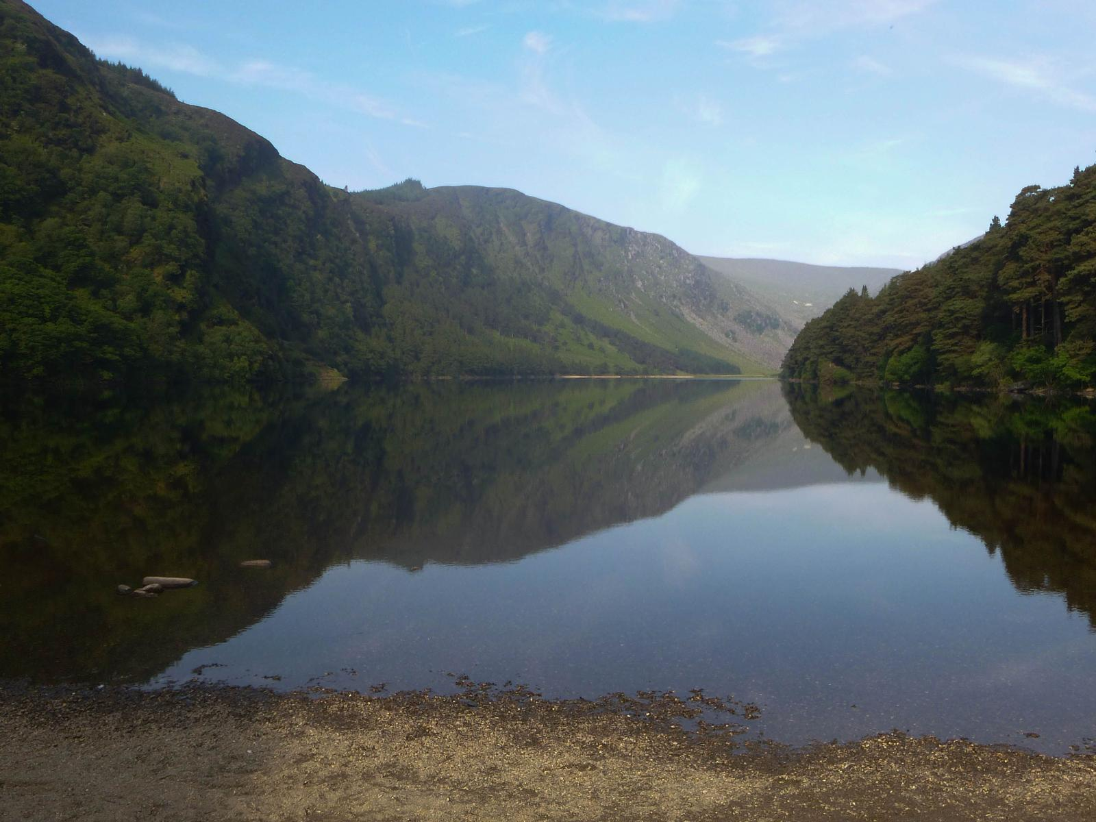 Fénykép GLENDALOUGH LAKE AND MINERS VILLAGE (Off-trail WICKLOW WAY)