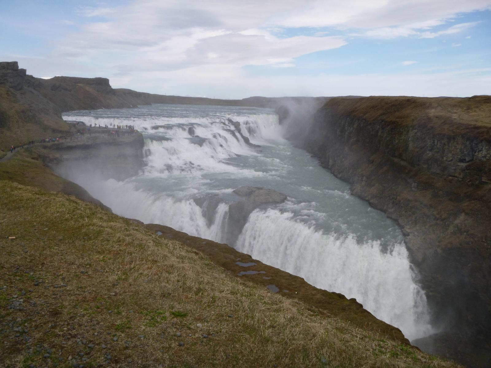 Photo of CASCATA GULLFOSS (GULLFOSS WATERFALL)