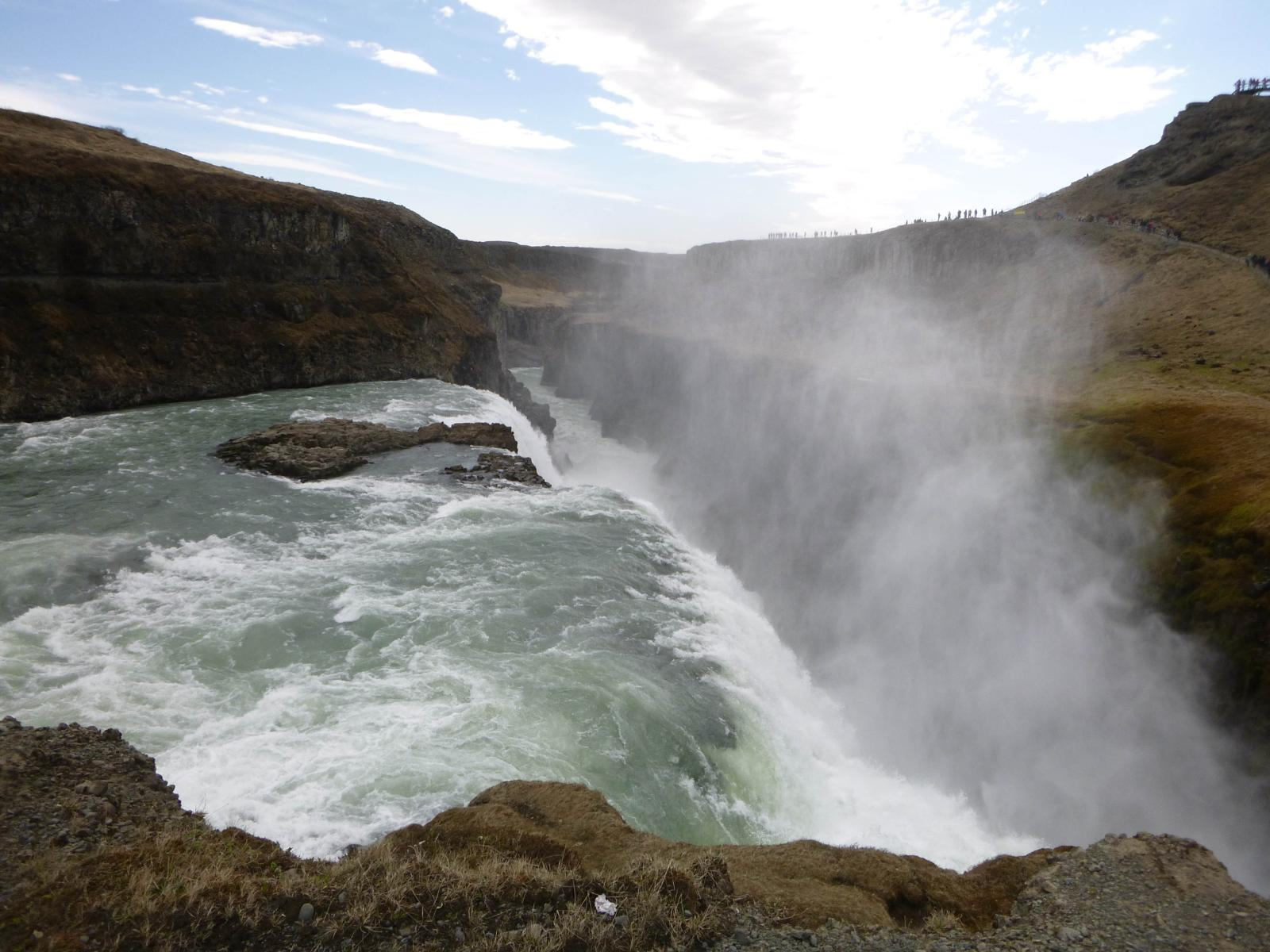 Photo de CASCATA GULLFOSS (GULLFOSS WATERFALL)