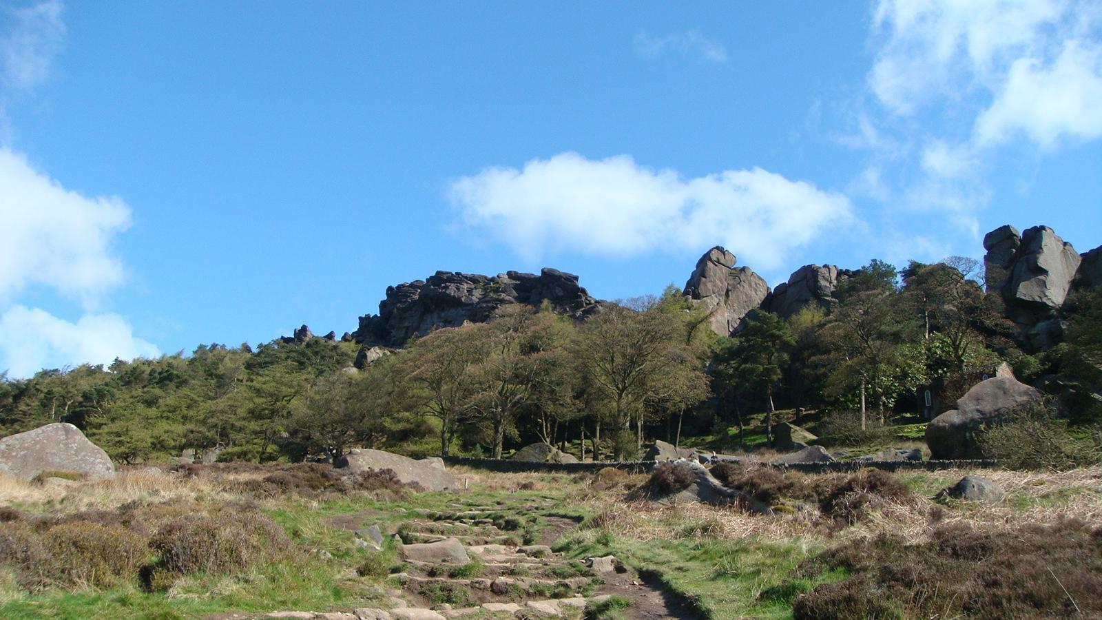 mynd af The Roaches, Leek, Great Britain...