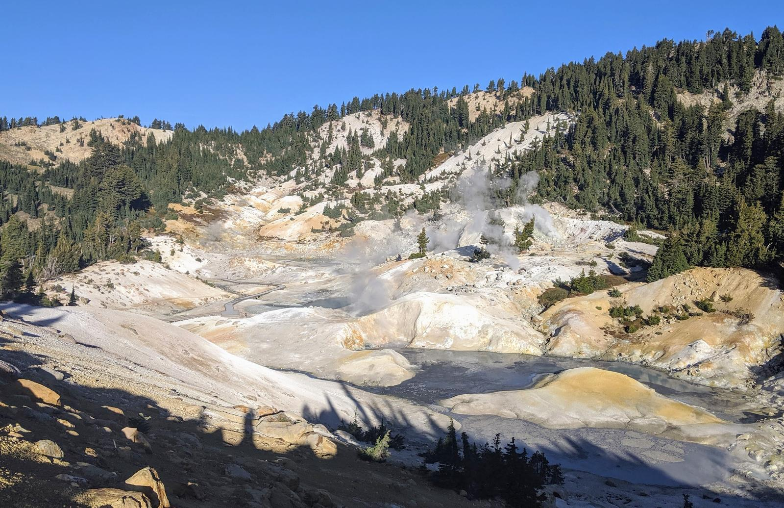 Photo of Bumpass Hell, Lassen Volcanic NP