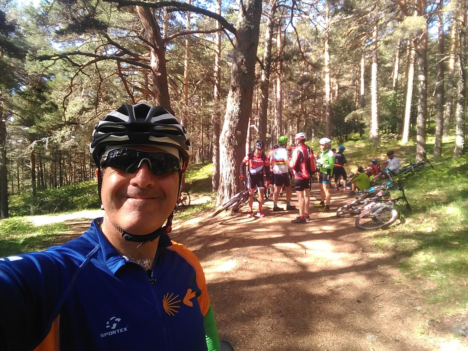 Photo de MTB Enbicipormadrid Cercedilla