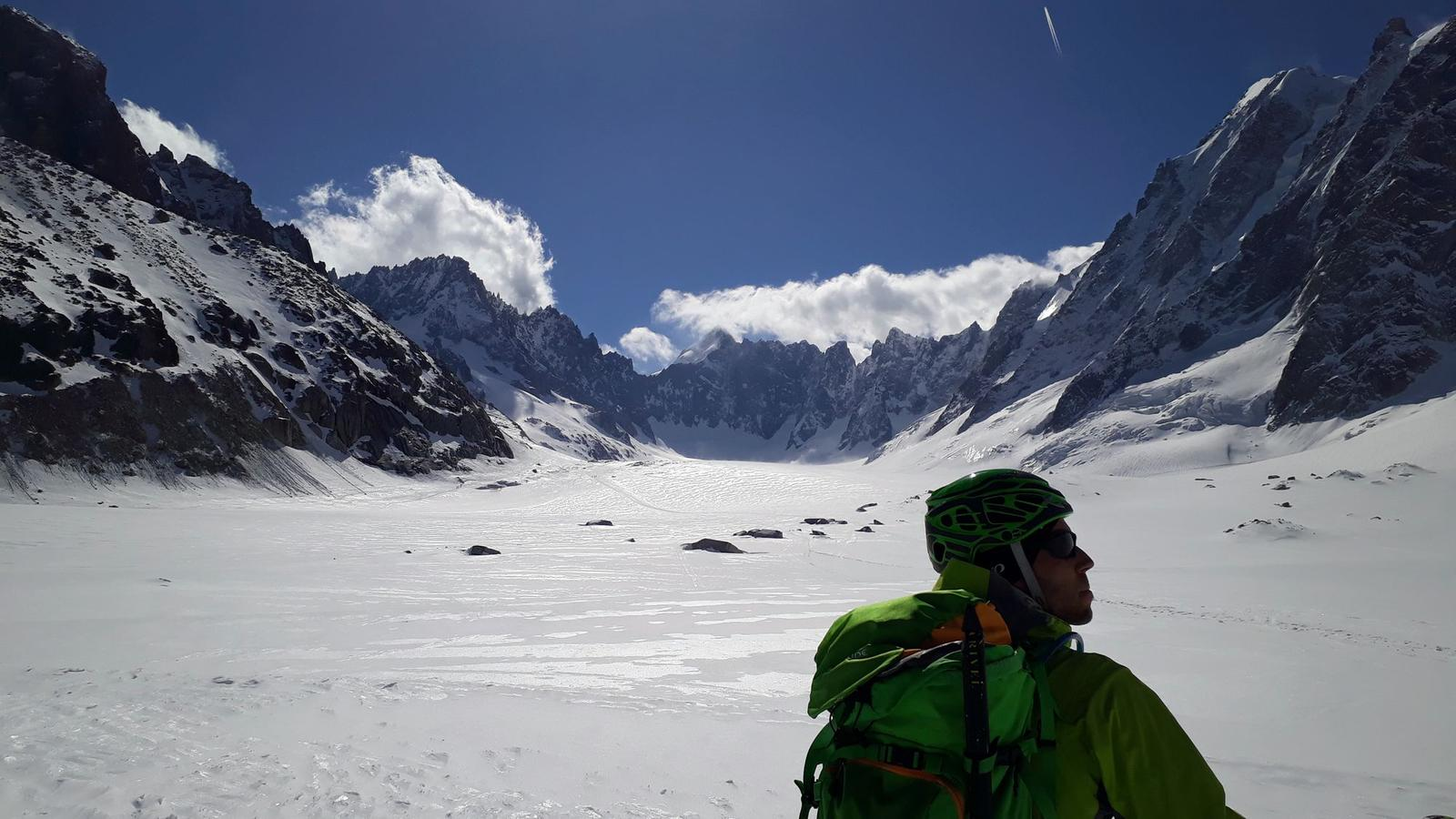 Φωτογραφίες Ski touring on glaciers above Argentiere