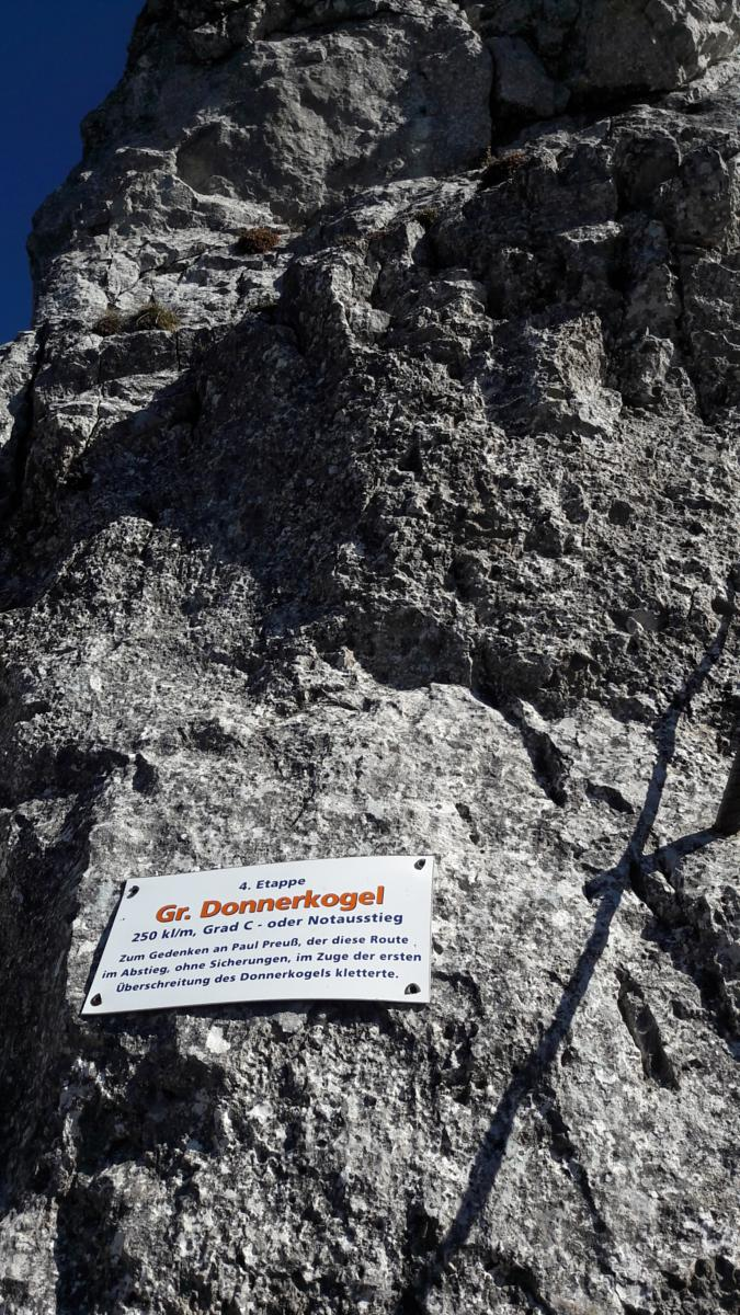 Foto de Intersport Klettersteig + Grosse Donnerkogel