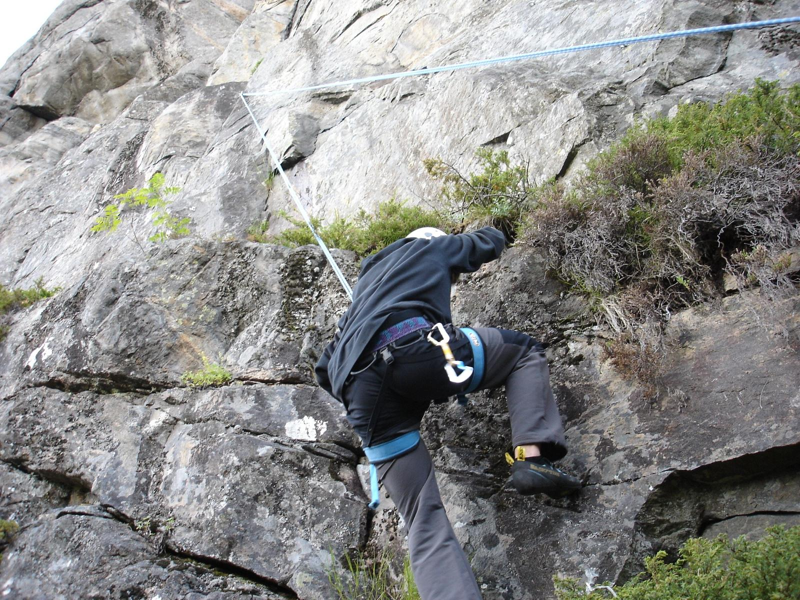Photo of Climbing area of Sandmaelen (Strom in Flatanger - Norway)