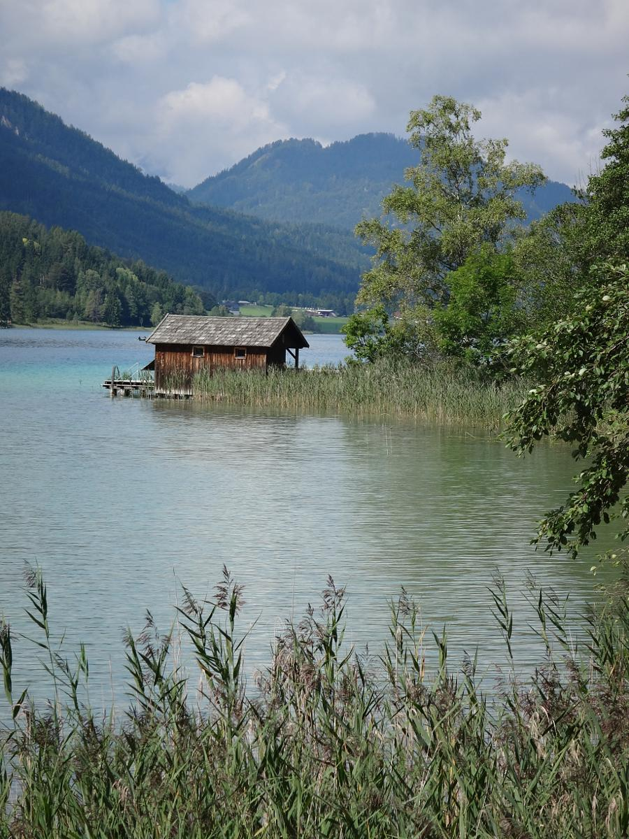 的照片 Gatschach-Dolomitenblick along the Weissensee 15 km hike + 11 km boat return