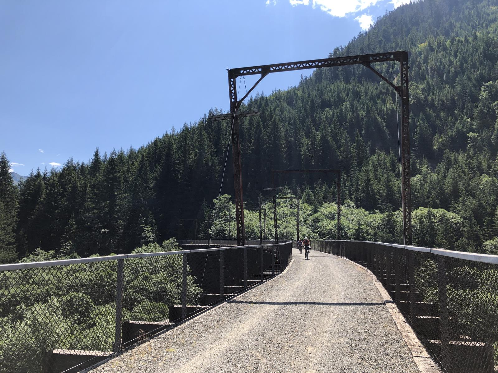 Foto di Iron Horse Trail- rattlesnake to Snoqualmie