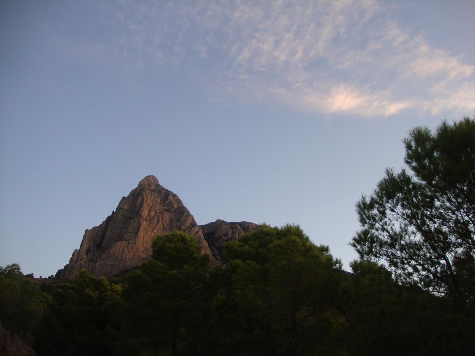Photo of Puig Campana por Km. Vertical. Cordillera Prebética. Finestrat, Alicante.