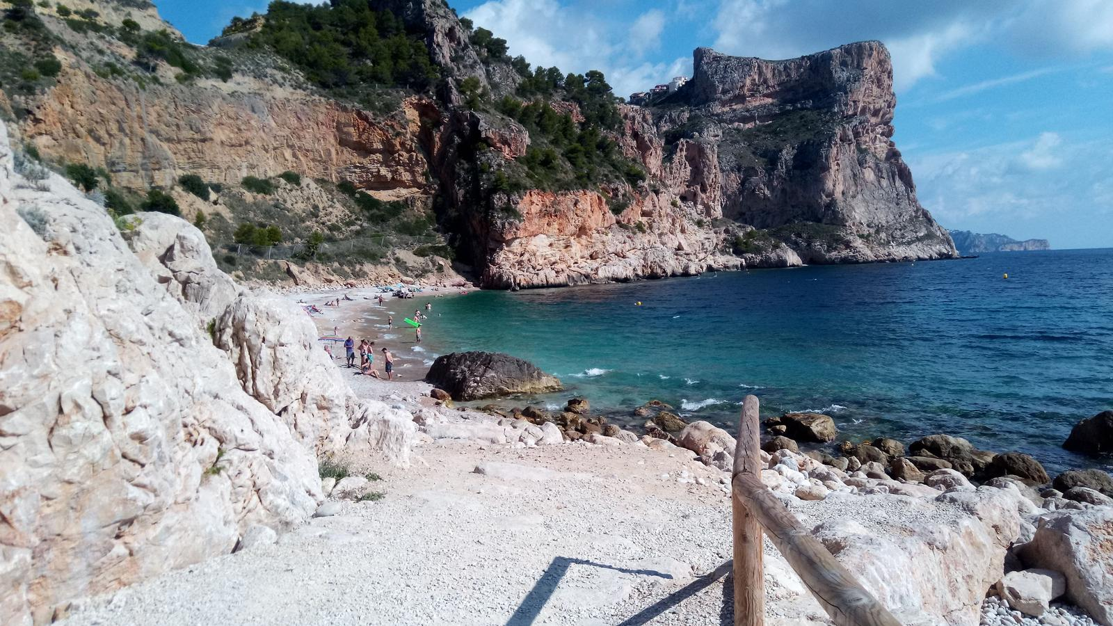 的照片 Javea - Cala Moraig and back