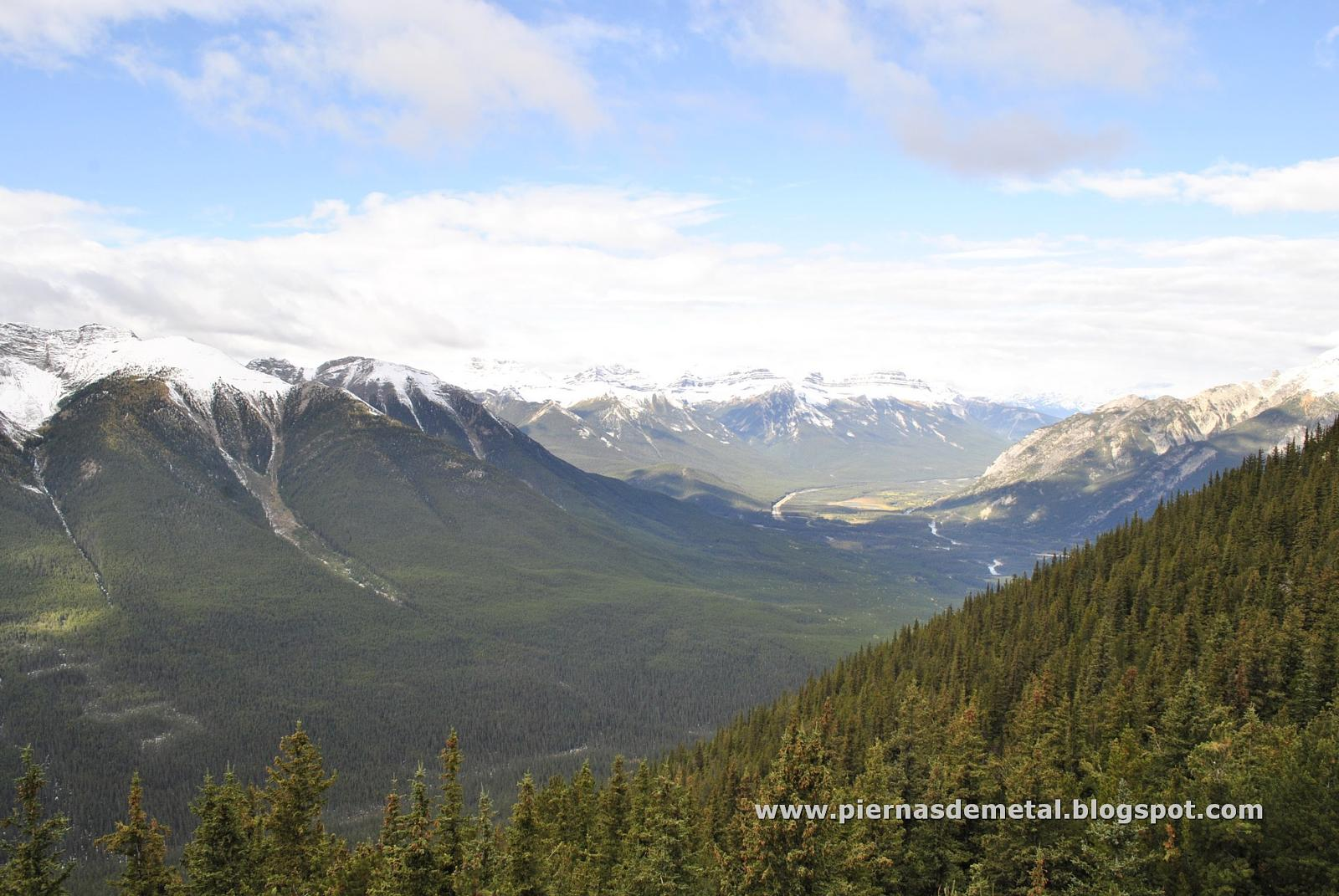 Foto de Sulphur Mountain trail