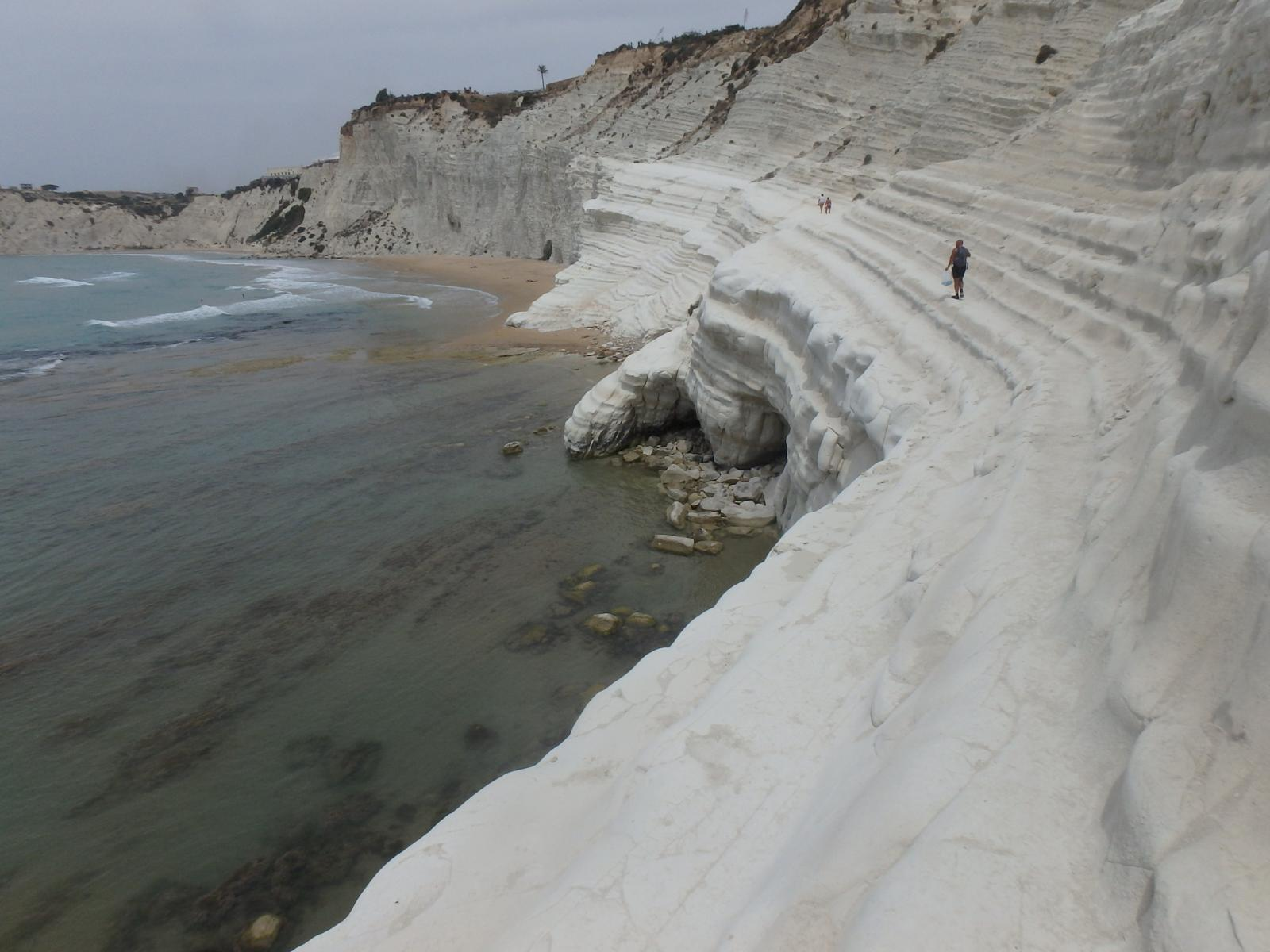 Photo de Scala dei Turchi - Sicilia