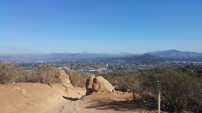 Zdjęcie Going up - Cowles Mountain