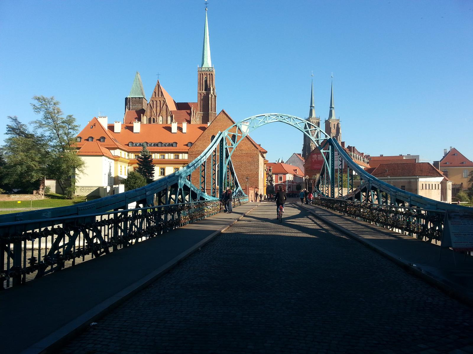 Foto van WROCLAW - THE CITY OF BRIDGES
