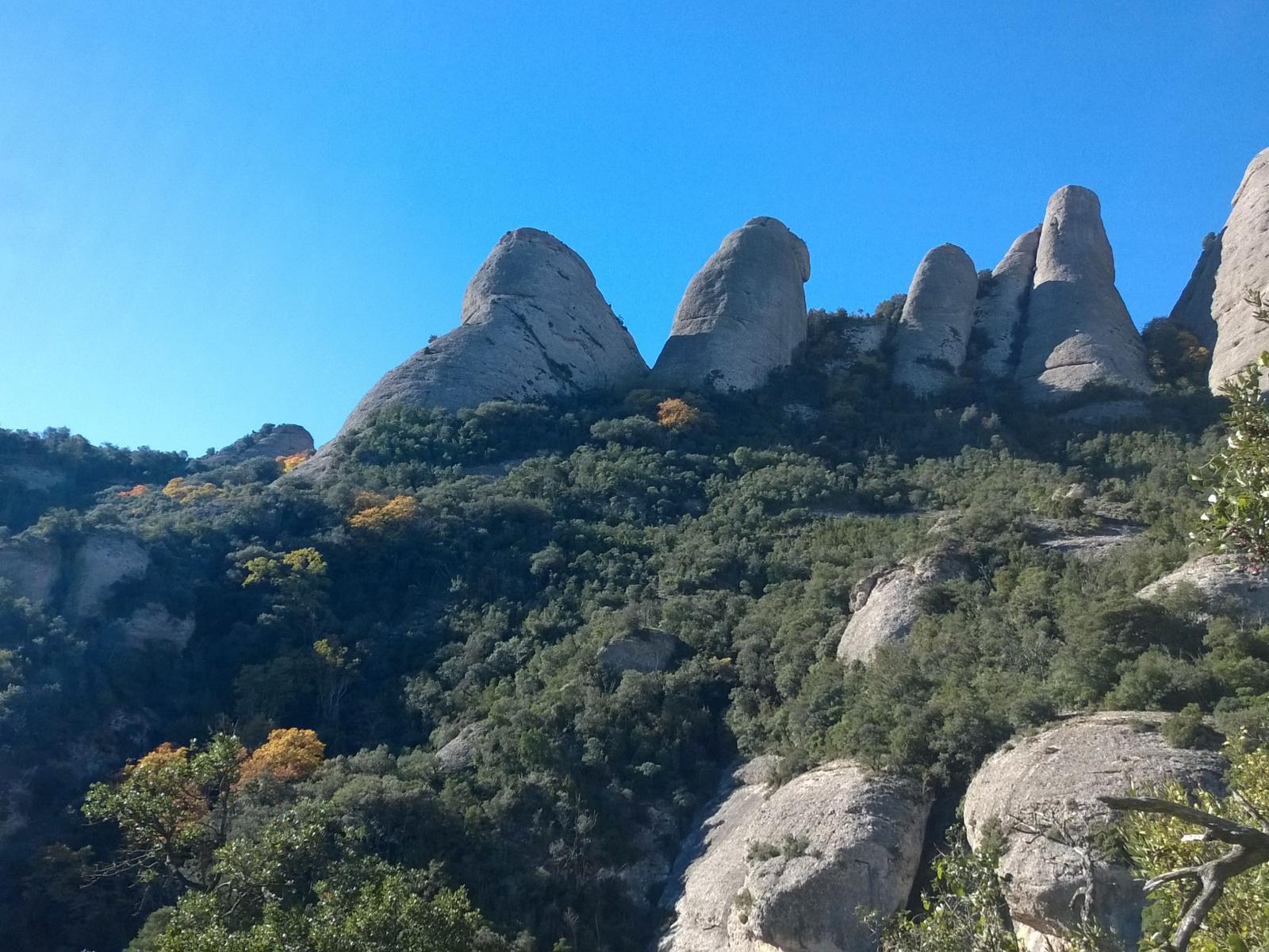 Photo de Montserrat - from the monastery to Sant Jeroni (camí vell)