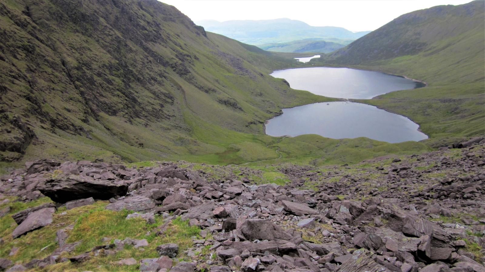 mynd af Coomloughra Lakes and Black Mare Gully (Co. Kerry)