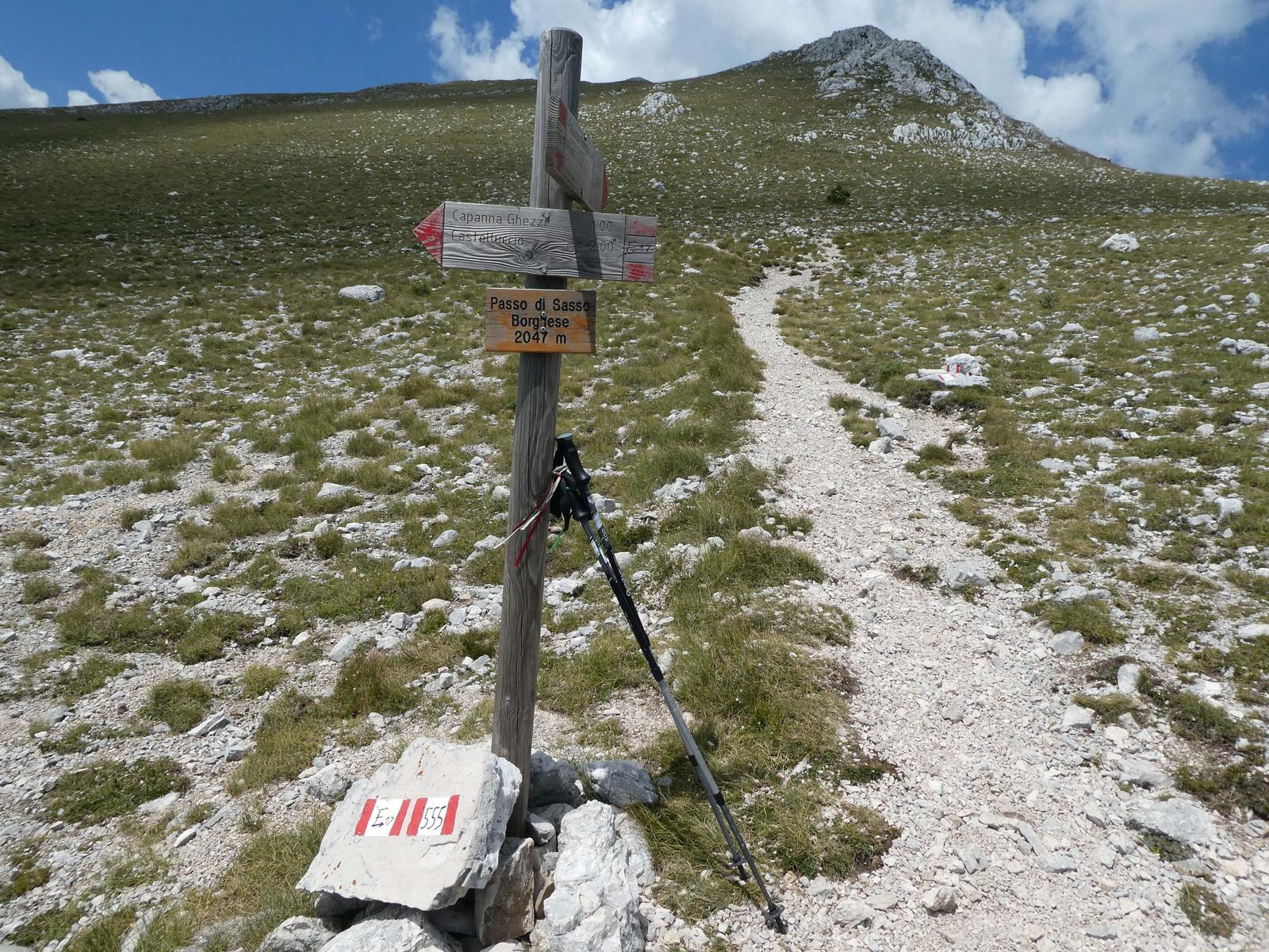 mynd af Passo di Sasso Borghese