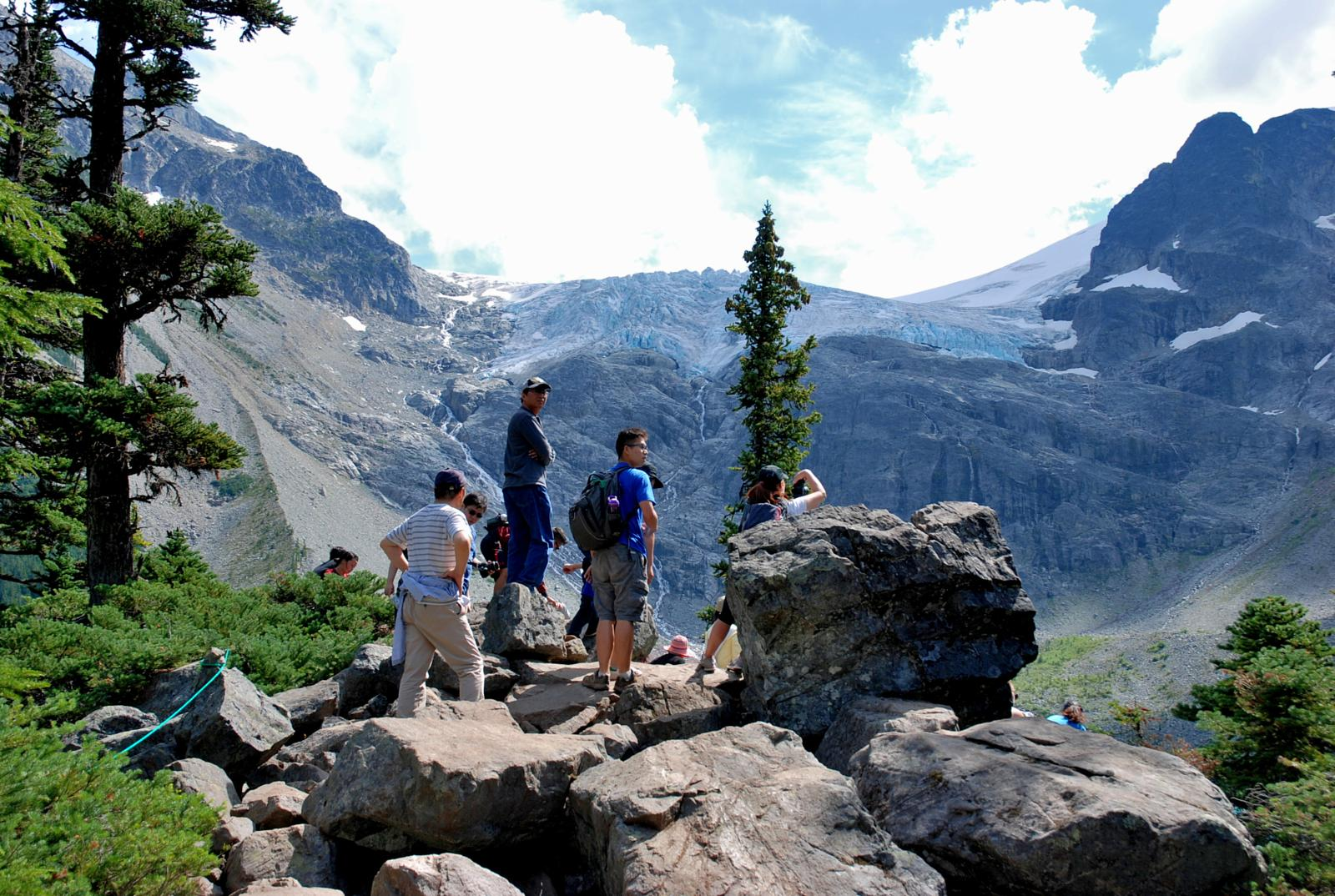 Foto af Joffre Lakes Provincial Park, BC - the popular lake and mountain hike near Whistler