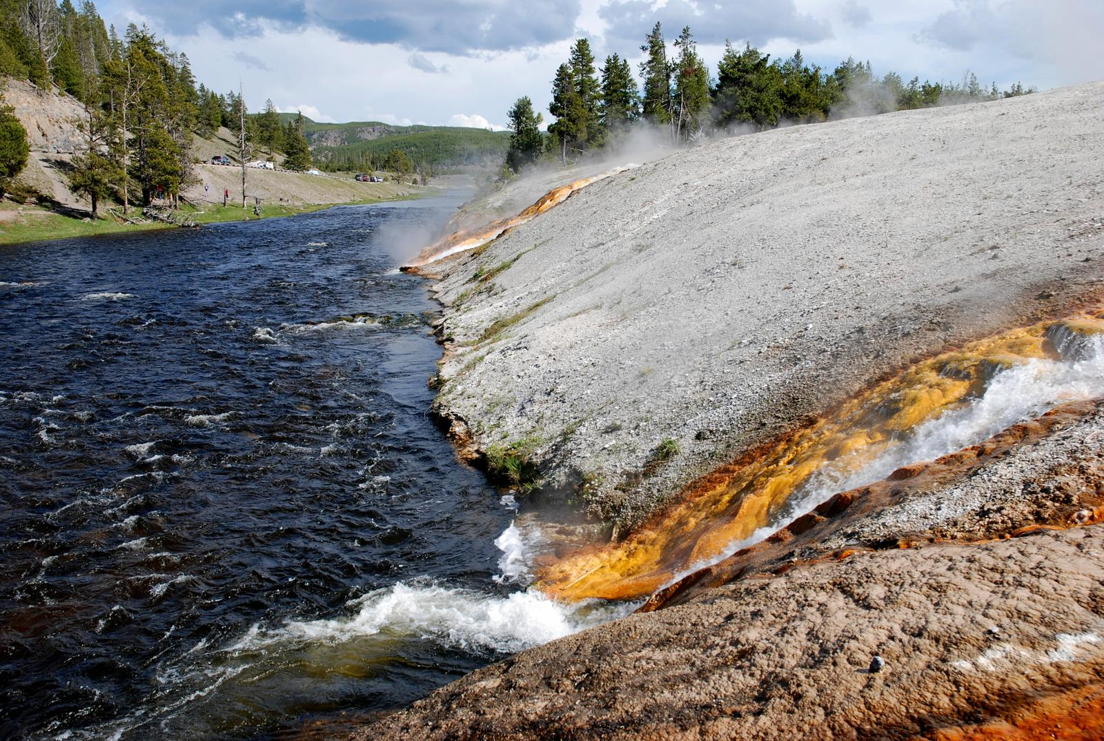 Photo de Midway Geyser Basin, Yellowstone Park, Wyoming, USA