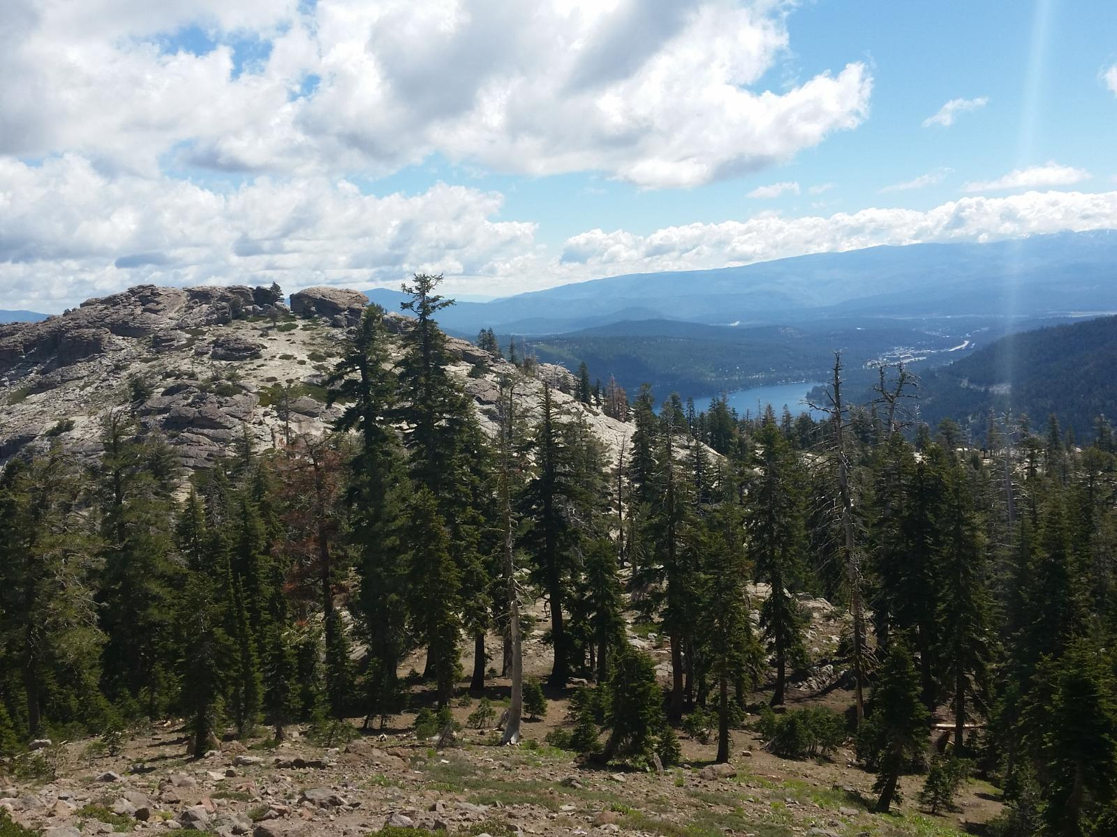 Photo de Donner Peak, Mt Judah and Roller Pass