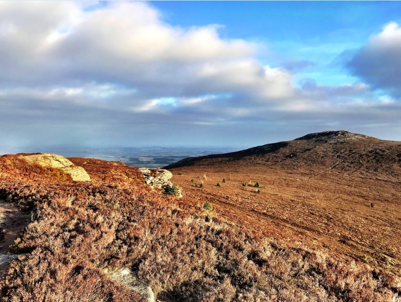 Photo de Back o'Bennachie-Oxen Craig-Watch Craig Circular (Aberdeenshire)